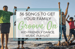 36 Songs Kid-Friendly Dance Music Playlist kids having fun