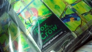 bookmarks for the new fox and crow book from story skilled child