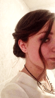 Close up of hair and makeup