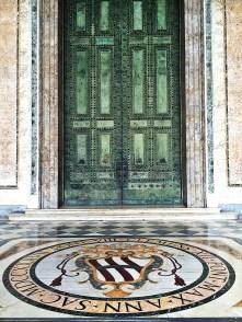 The door of the basilica