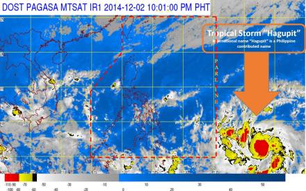 Source: Philippine Atmospheric, Geophysical and Astronomical Services Administration (PAGASA)