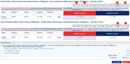 Manila-Basco August22-27