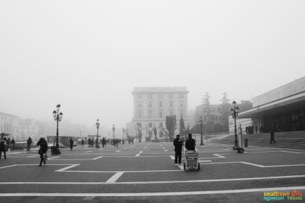 Venice Santa Lucia train station in the off season