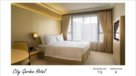 Hong Kong hotels - City Garden Hotel