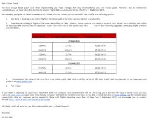 Air Asia Cebu Davao flights cancelled