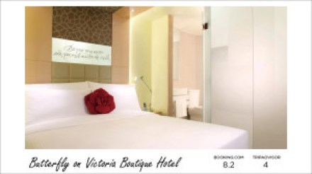 Hong Kong hotels - Butterfly on Victoria Boutique Hotel