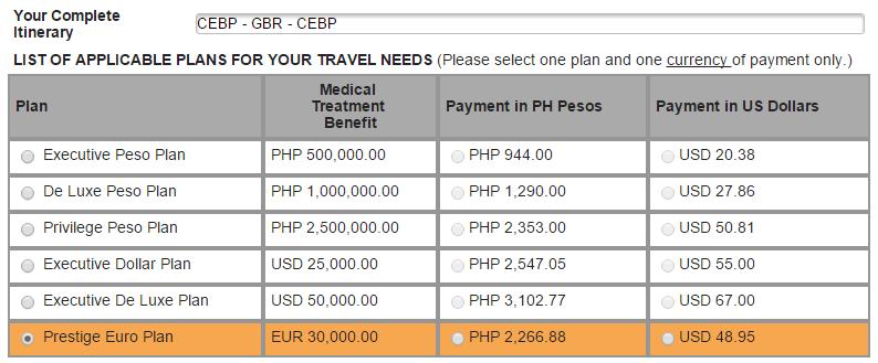 Travel Insurance For Schengen Visa Blue Cross