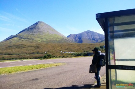 The Sligachan bus stop