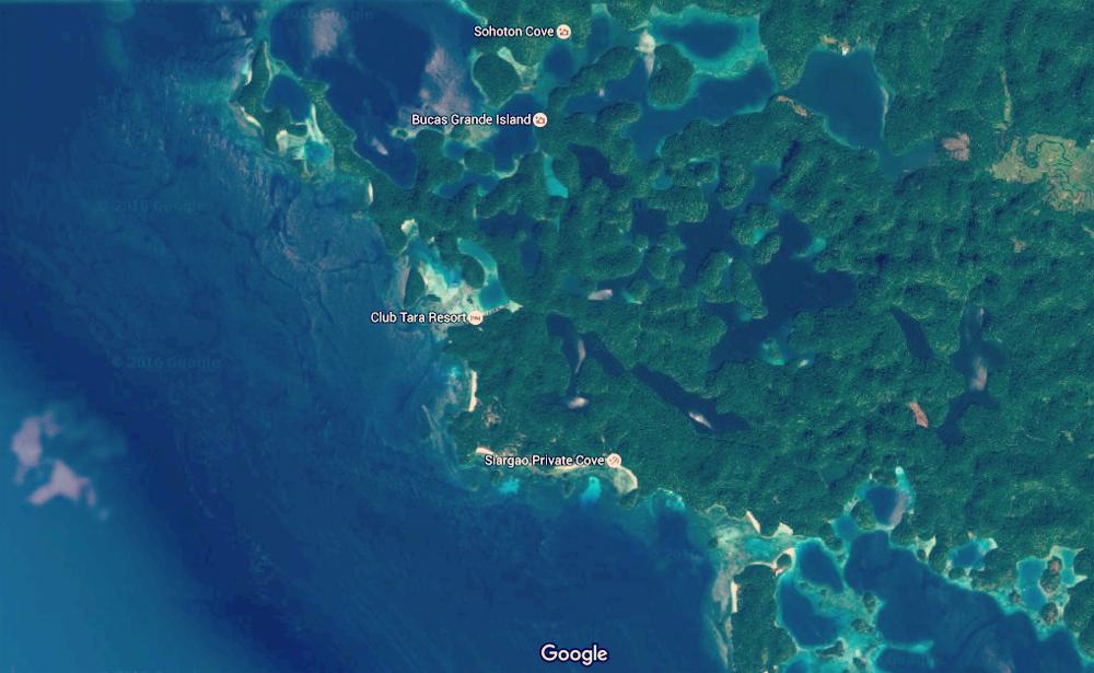 Map_Sohoton_Google Earth view