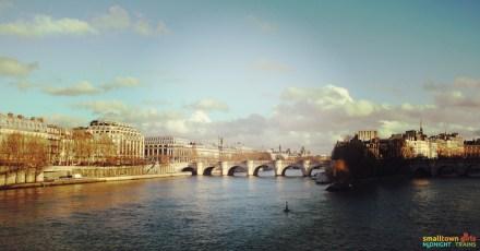 SGMT France Paris Seine bridge