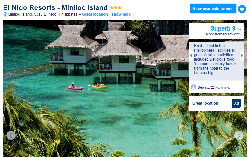 Where to stay in El Nido - El Nido Resorts Miniloc Island