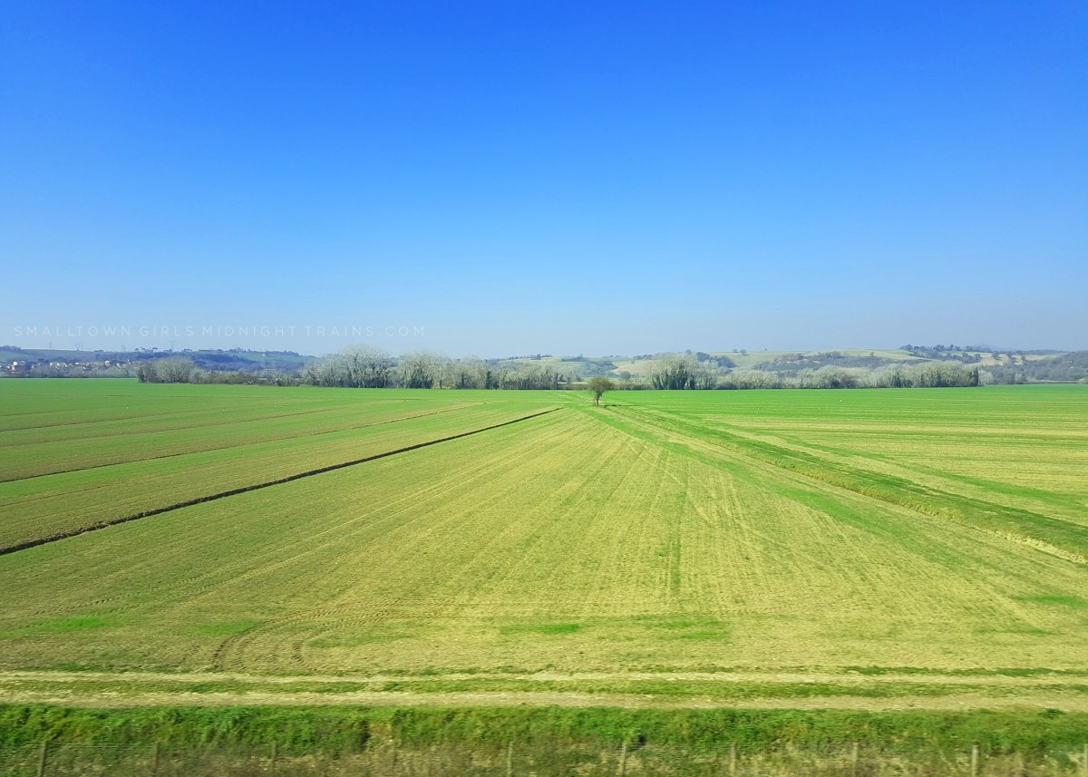 Countryside between Rome and Florence