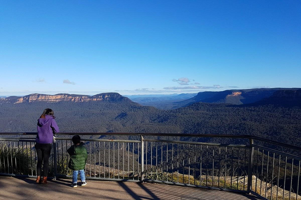 Blue Mountains Katoomba Echo Point