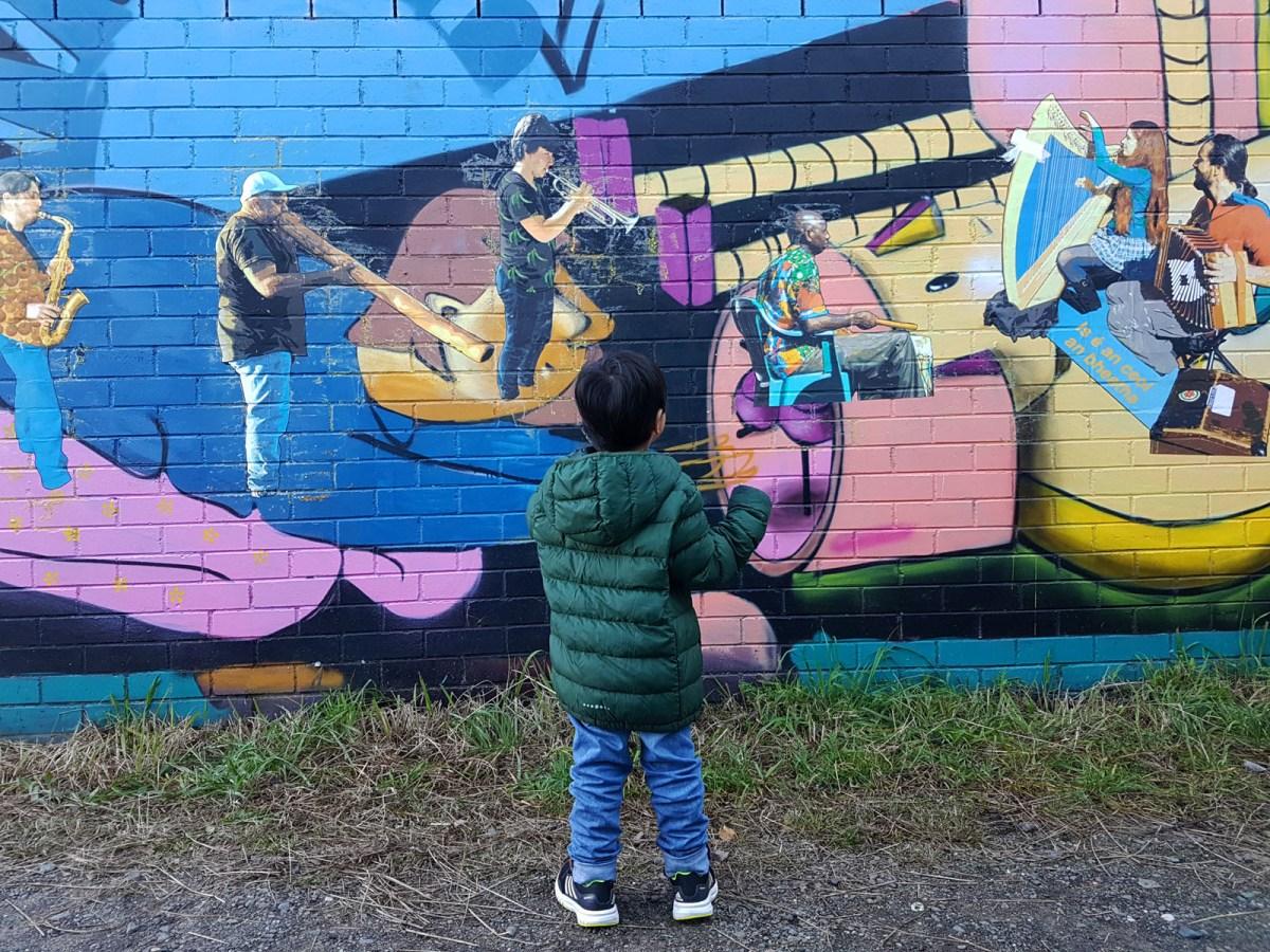 Blue Mountains Katoomba Art Walk Graffiti_Musicians