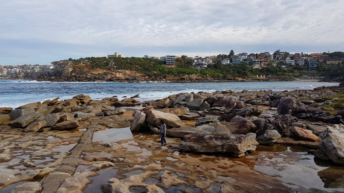 SGMT Australia Sydney_Bondi to Coogee Coastal Walk_12 Lei among the rocks