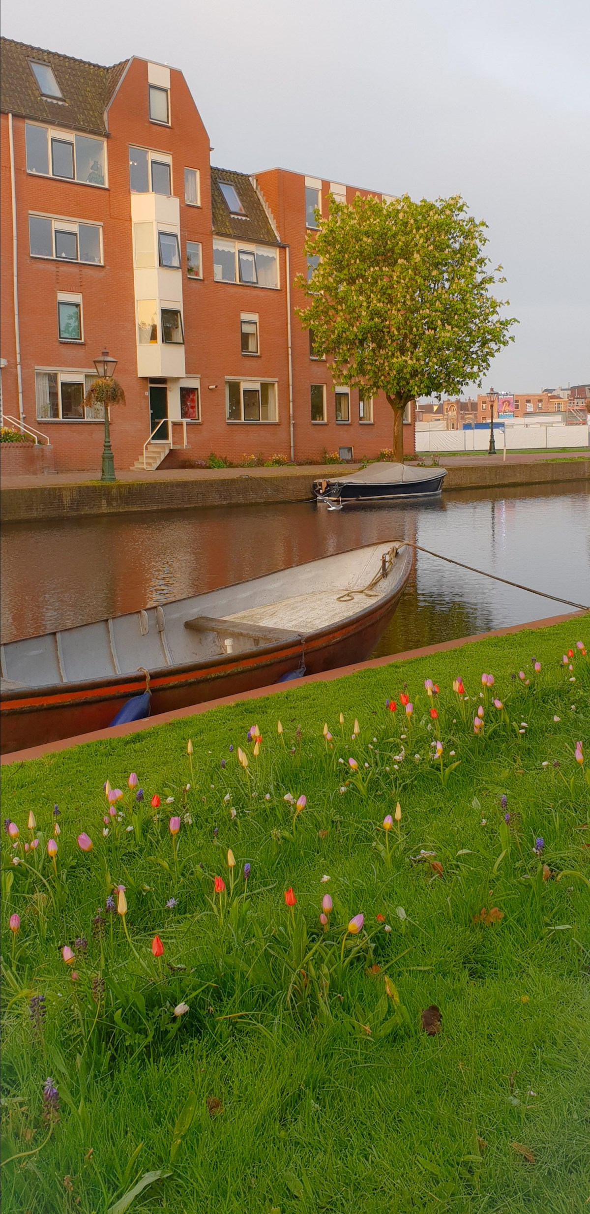 SGMT | Leiden | Boats and buildings