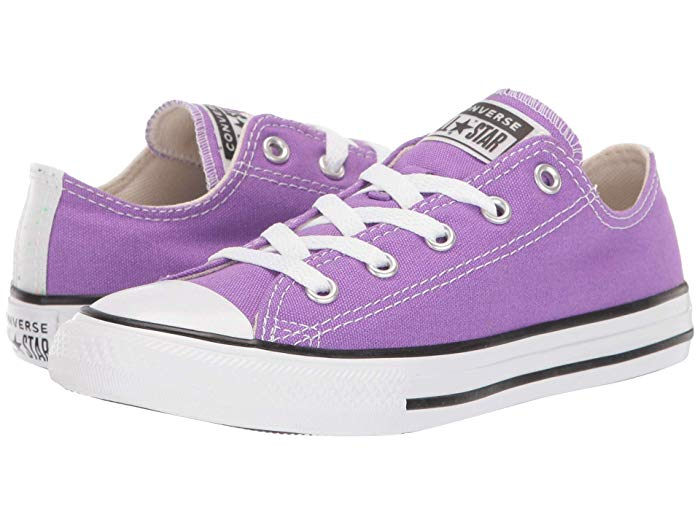 Converse - Kids - Chuck Taylor All-Star Galaxy Dust - Ox - BrightVioletNaturalIvoryWhite
