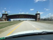 """Just when you think you've seen it all, you see """"The Kearney Arch"""" or technically titled the """"Great Platte River Road Archway"""""""