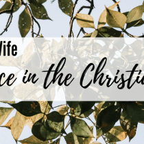 Balance in the Christian Life