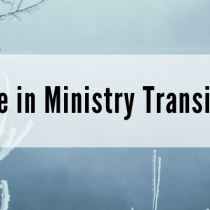 Hope in Ministry Transition