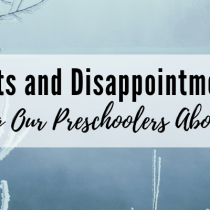 Donuts and Disappointments: Teaching Our Preschoolers About Hope
