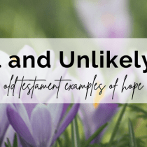 Michal and Unlikely Hope