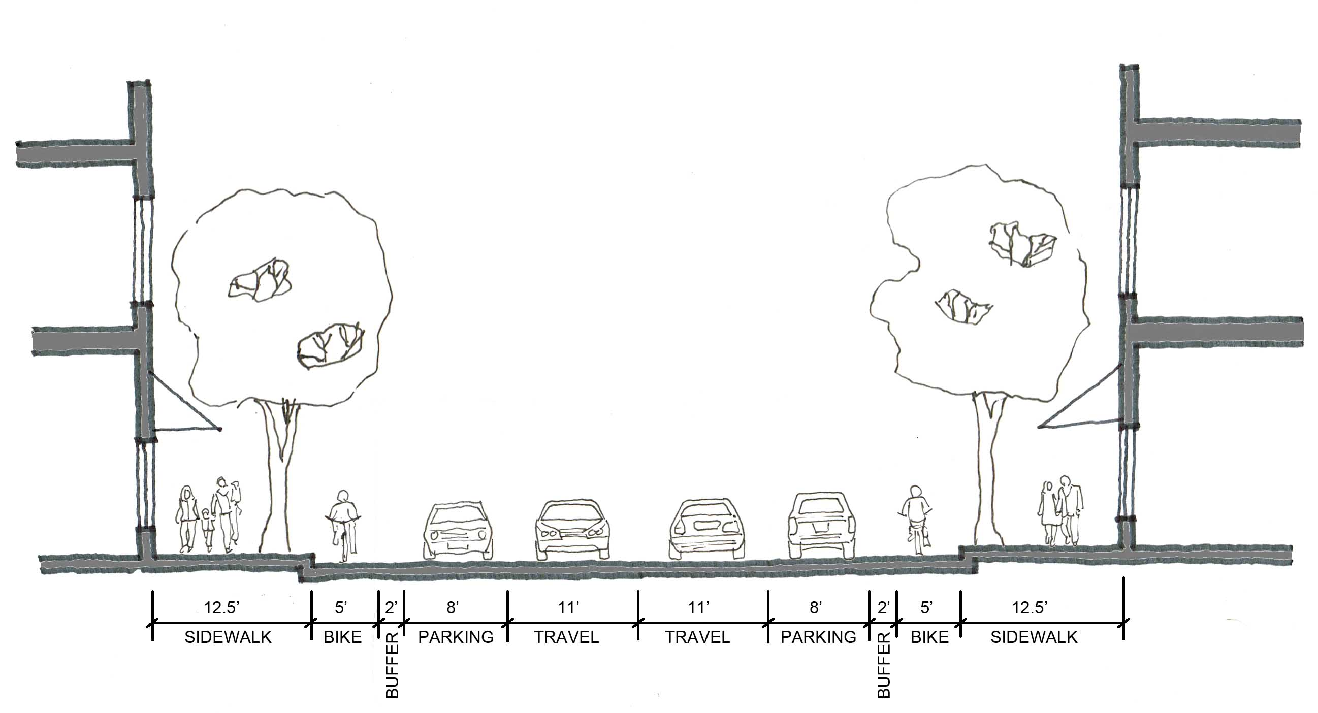 small town urbanism » Not a place for people