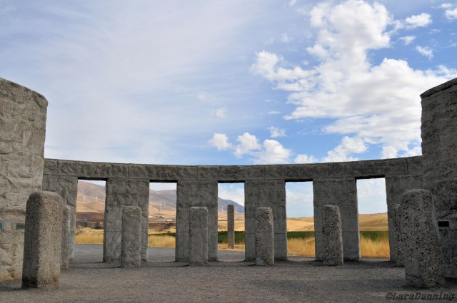 Stonehenge in Maryhill, WA