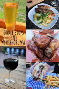Foodie Stops in Winthrop Washington