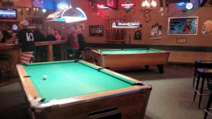 Three Fingered Jakc's Saloon Pool Table