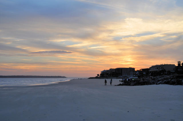 East Beach on St Simons Island