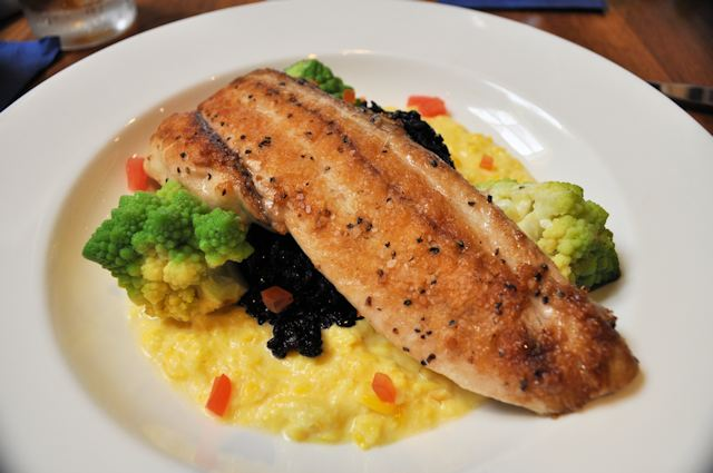 Pan-Seared Black Drum