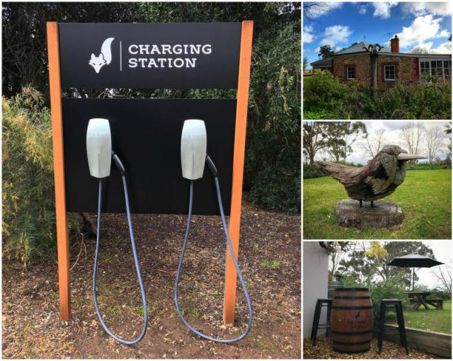 Wineries in McLaren Vale in South Australia.