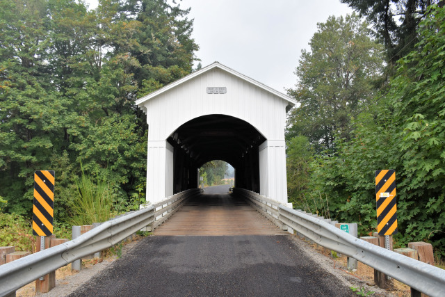 Cottage Grove covered bridge.