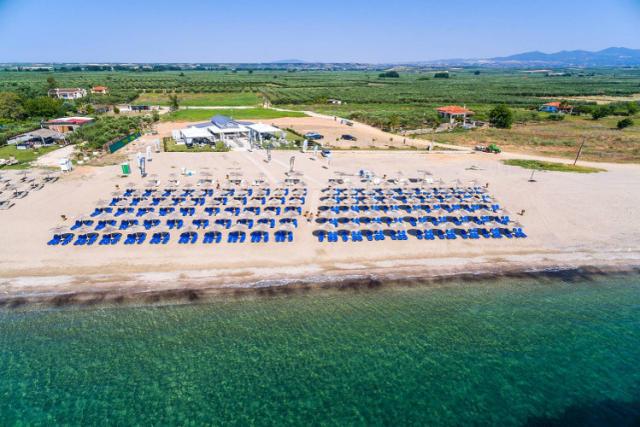 Pasir Beach Bar in Halkdiki Greece.