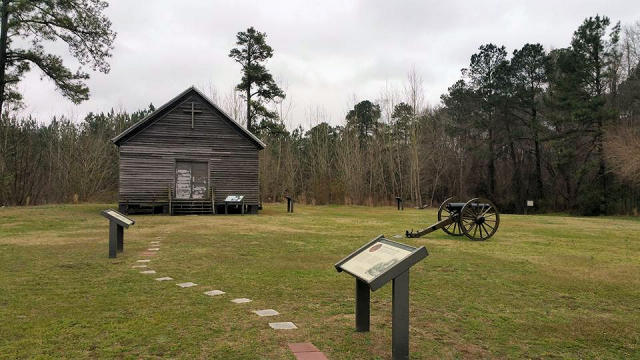 First Battlefield of Kinston Park.