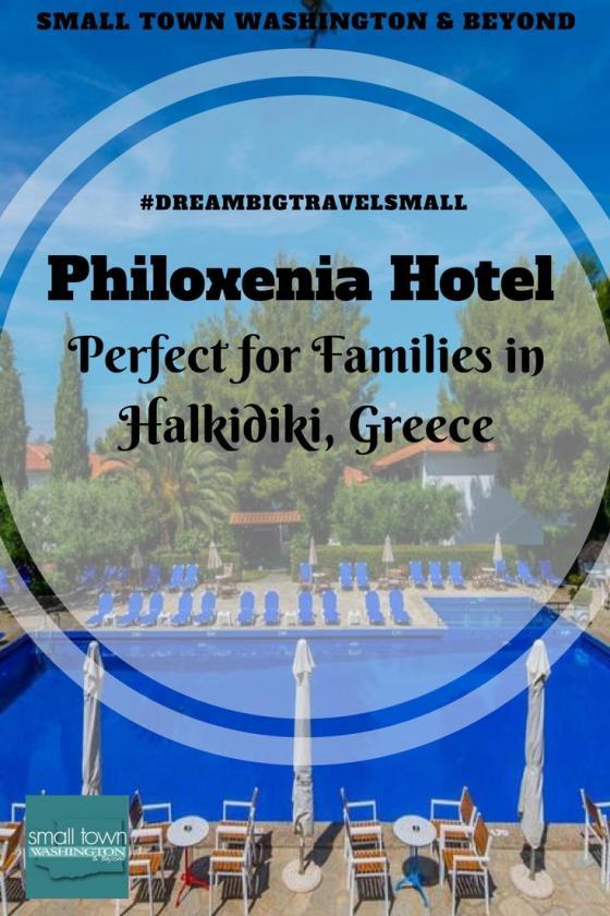 Philoxenia Hotel in Halkidiki Greece.