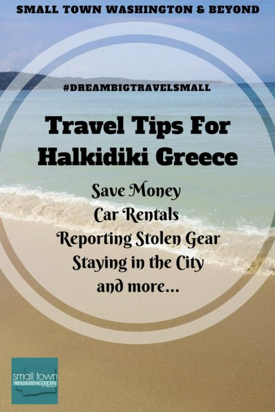 travel tips for Halkidiki Greece.