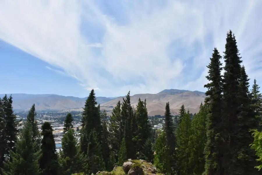Visit Wenatchee Washington and Ohme Gardens.