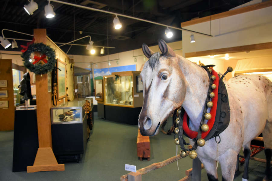 The Appaloosa Museum in Moscow, Idaho.