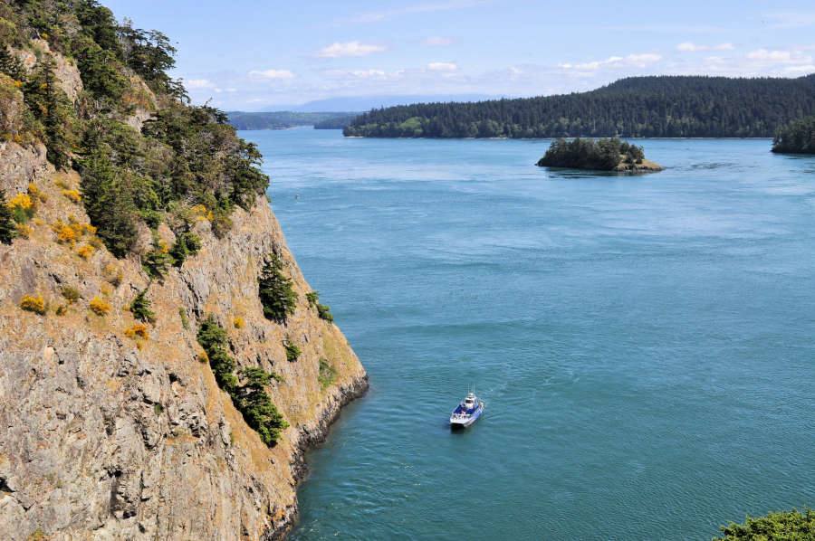 Deception Pass Tours in Washington State.