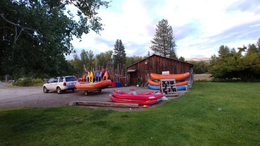 Methow River Raft + Kayak in Winthrop, Washington.