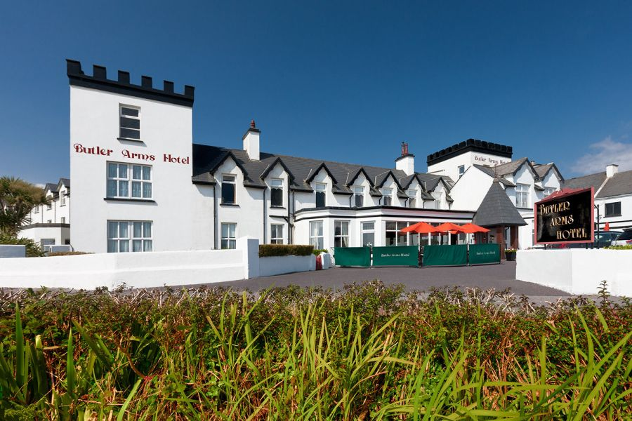 The Butler Arms Hotel is a luxury hotel in Ireland.