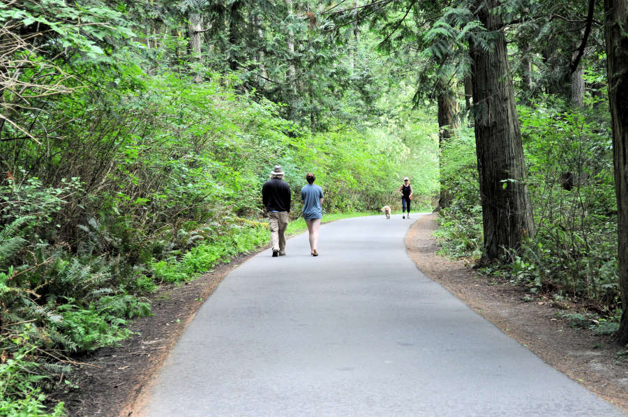 Washington Park Loop in Anacortes, Washington.