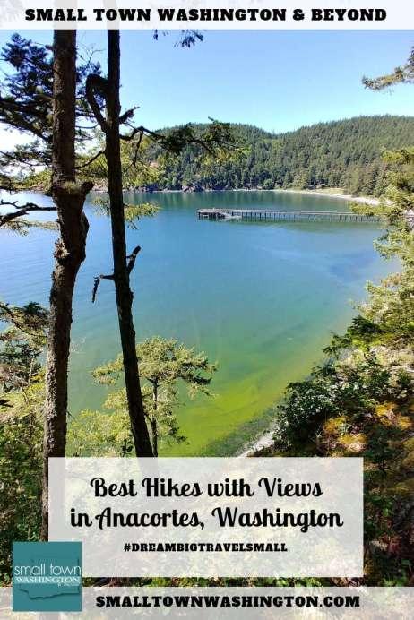 hikes with views in Anacortes, Washington