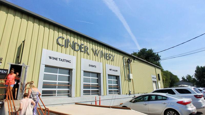 Cinder Winery in Garden City, Idaho.