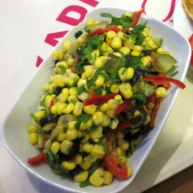 Corn Salad in Kadikoy