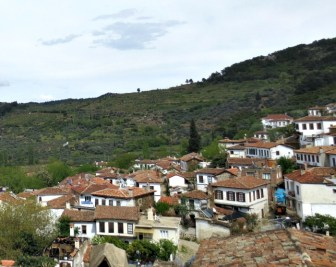 View of Şirince - not a great photo but it's the only one I took.