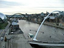 View of the Quayside from BALTIC.