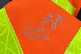 Toronto Pearson safety vest